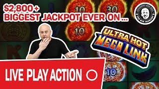 🔴 Part 1 of 2: $50,000 ULTRA HOT VEGAS SLOTS 🔥 Ultra Hot Mega Link!