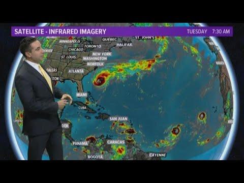 TROPICS UPDATE: Hurricane
