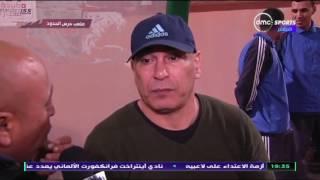 المقصورة - تصريحات ابراهيم حسن مدير الكرة بالنادي المصري بعد الفوز على بتروجيت