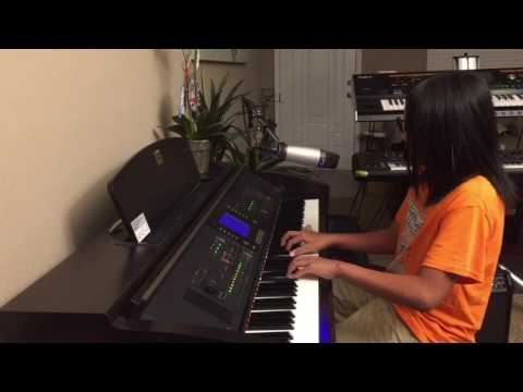 Europe Tomorrow - Piano and Vocals Cover by 10-year-old