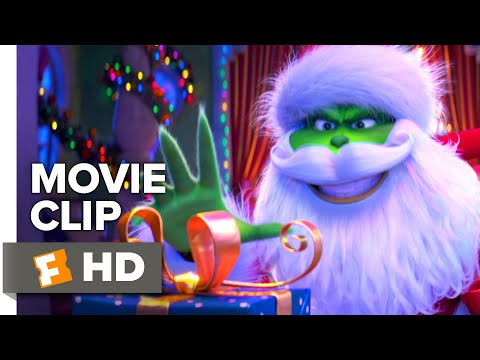The Grinch Movie Clip - The Grinch Steals Christmas from Whoville (2018) | Movieclips Coming Soon