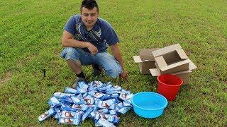 Otworzył 100 lodów Big Milk. ILE WYGRAŁ?