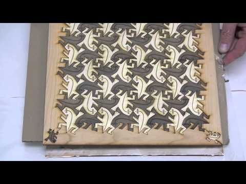 Creating an Escher-Like Tessellated Chess Board