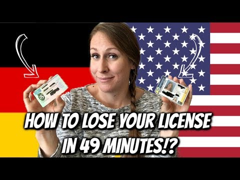 German vs US Drivers Licenses