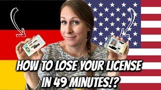 German vs US Drivers Licenses
