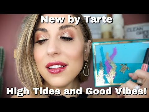 TARTE High Tides & Good Vibes Eyeshadow Palette Review & Swatches (2019)