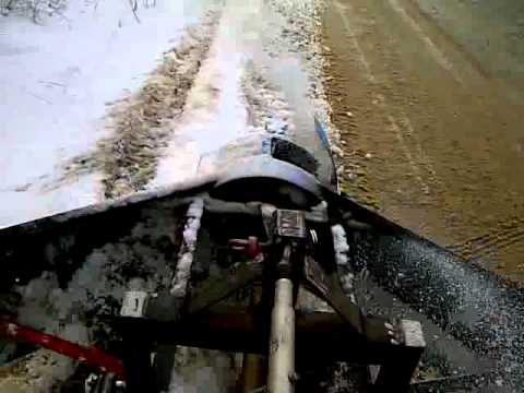 Homemade snow blower - YouTube