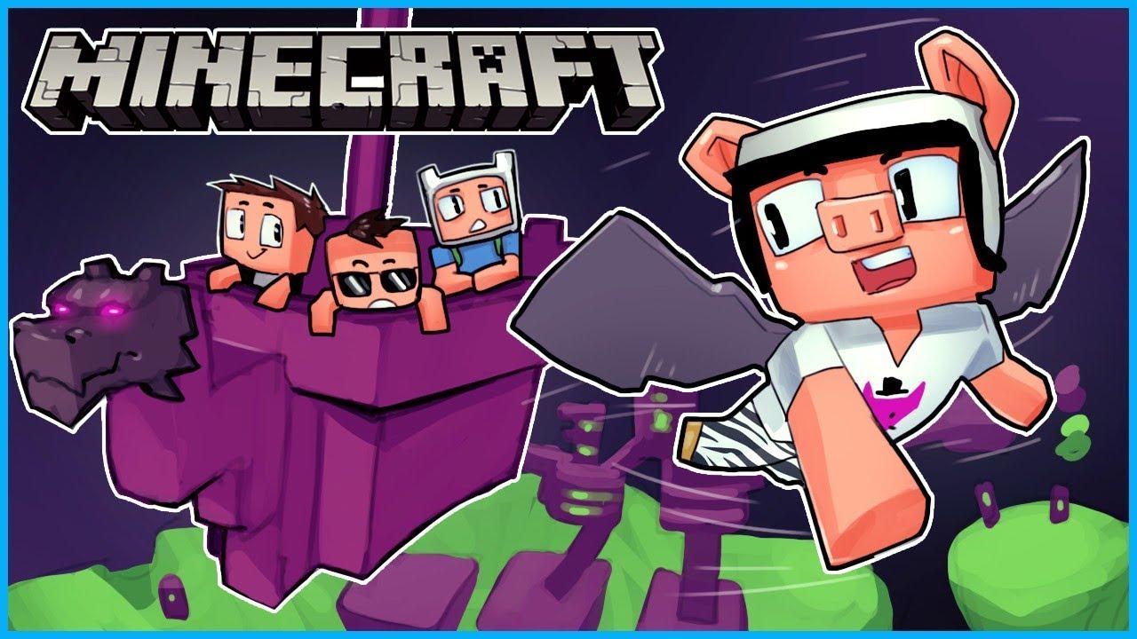Wir sind viel zu dumm, um die Elytra-Flügel in Minecraft zu haben ... Folge 16 + video
