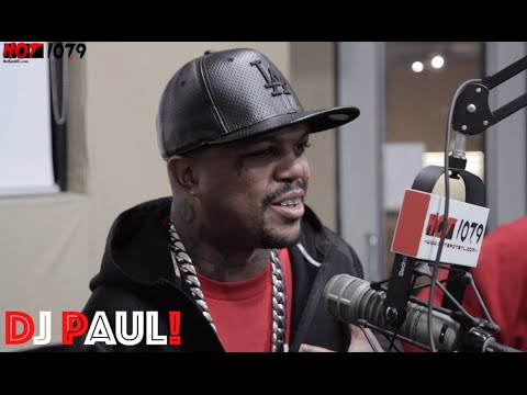 DJ PAUL Talks 3-6 Mafia History, The Deaths Of Lord Infamous And Koopsta Nicca, And Master Of Evil