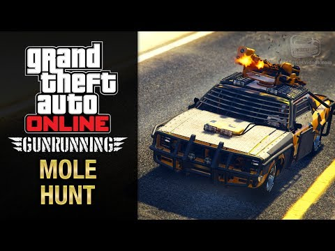 GTA Online Gunrunning - Mobile Operation #6 - Weaponized Tampa (Mole Hunt)