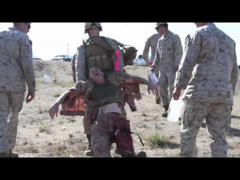 I MEF Marines COMBAT LIFESAVERS Course