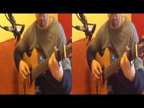 3D Message in a bottle - Police cover played on classical guitar #3DGuitarist (yt3d:enable=true)