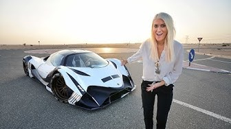 World's First Person To Drive THE DEVEL SIXTEEN