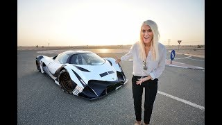 Download World's First Person To Drive THE DEVEL SIXTEEN Mp3 and Videos