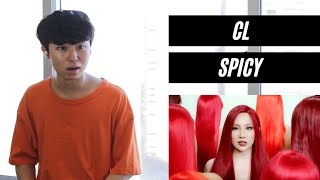 CL - SPICY (Official Video) REACTION