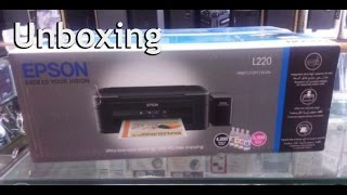 Epson L220 Unboxing and Printer Test GoodWork