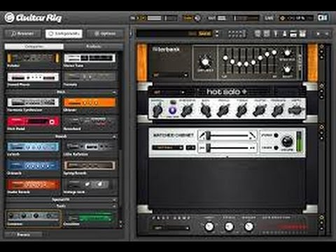 Guitar rig 5 download + crack + asio4all youtube.