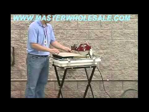 Mk 660 Tile Saw Demonstration Video