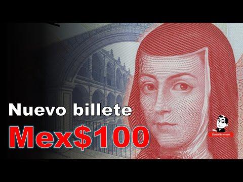 Este es el nuevo billete de $100 de México