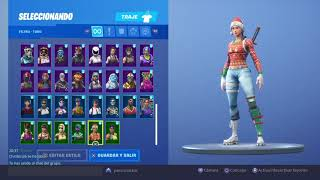 I sell my chetada fortnite account with + of 80 skins!