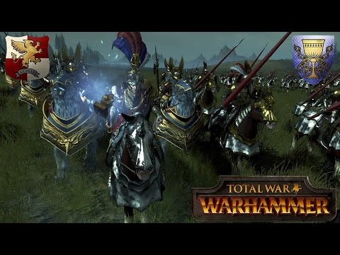 Subcommanders: The Emperors Finest vs. Bretonnia - Total War Warhammer Multiplayer Battle