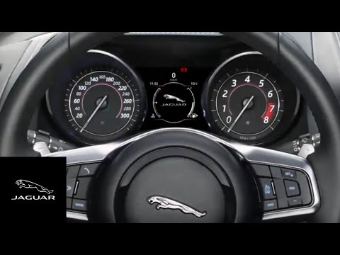 Jaguar F-TYPE 2018 | InControl Touch Pro Steering Wheel Controls