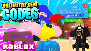 ROBLOX BUBBLE GUM SIMULATOR ZEN CODES: FREE GEMS SECRET GENIE [Insane!]