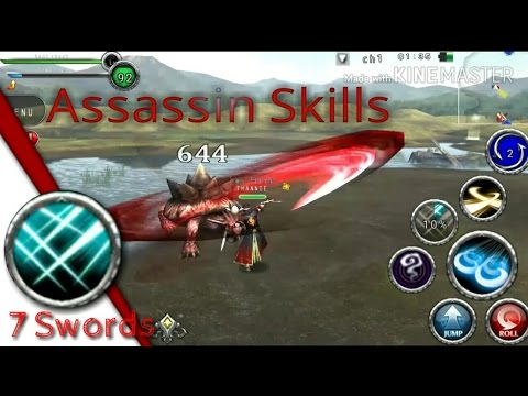 Avabel Online - Assasin All Skill