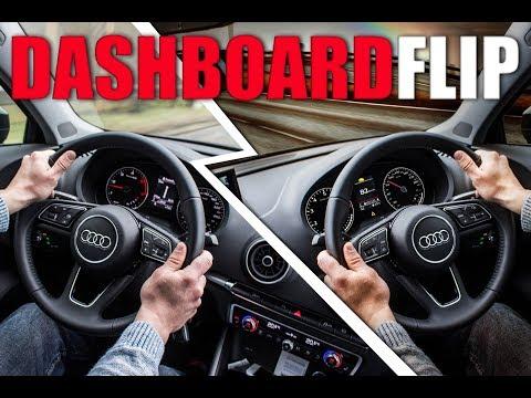 Adobe Photoshop: Flipping Car Interior & Dashboard Swap - Time Lapse