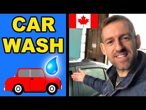 CAR WASH IN CANADA!