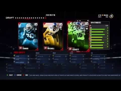 NEW LEGENDS KEVIN MAWAE and SAM MADISON! Mut 17 DC Draft  Madden 17 UT