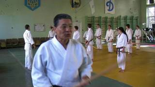 Seminar Nagano Hiromichi Sensei, 7 Dan Yoshinkan Aikido, Ukraine, Lugansk 30.10.09-1.11.2009(Video from seminar Nagano Hiromichi Sensei, 7 Dan Yoshinkan Aikido, Ukraine, Lugansk 30.10.09-1.11.2009. Видео с семинара Нагано Хироми..., 2010-05-06T22:51:27.000Z)