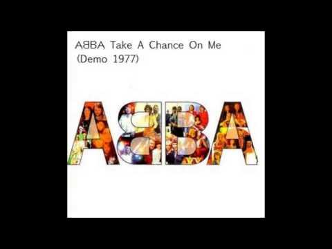 ABBA Take A Chance On Me Demo 1977