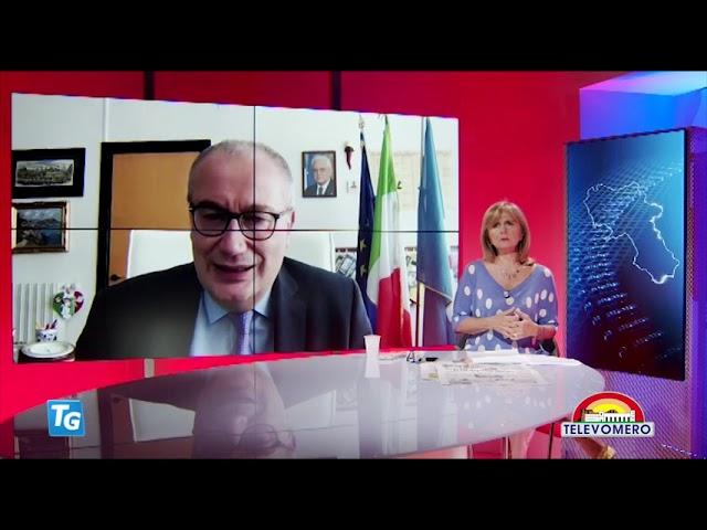 TELEVOMERO NOTIZIE IN COLLEGAMENTO MAURIZIO DI MAURO D G  AZ OSPEDALIERA DEI COLLI 16 GIUGNO 2021
