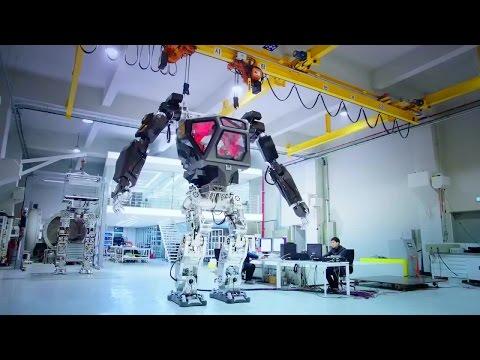 Korea Future Technology - Method 1 Piloted Giant Robot Testing [720p]