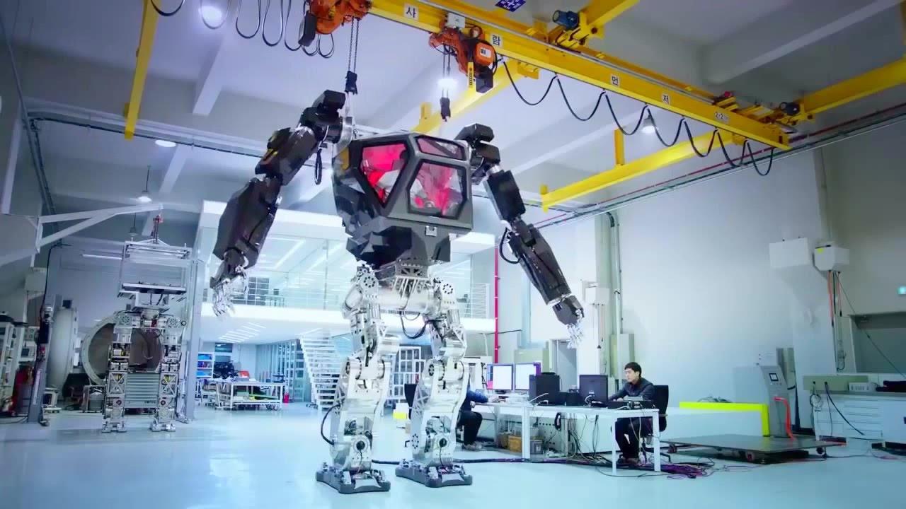 Korea Future Technology Method 1 Piloted Giant Robot Testing 720p Youtube