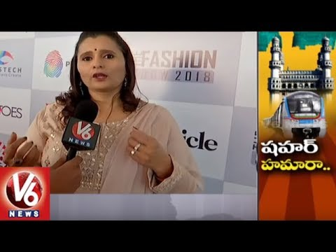 Fashion Shows Culture Raised In Hyderabad City | V6 News