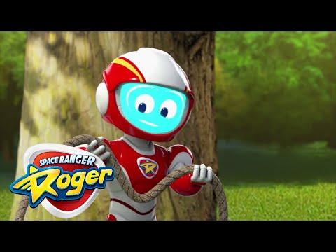 Cartoons For Children | Space Ranger Roger | Full Episode - Roger's Swing Thing