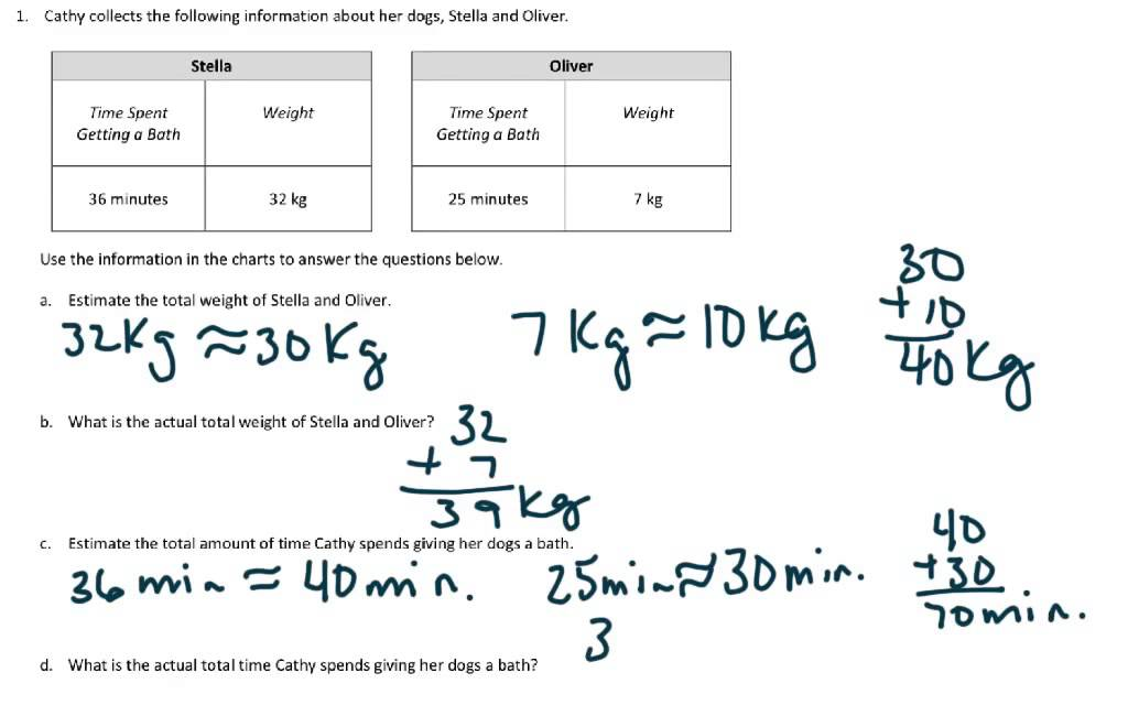 EngageNY Grade 3 Module 2 Lesson 17 - YouTube