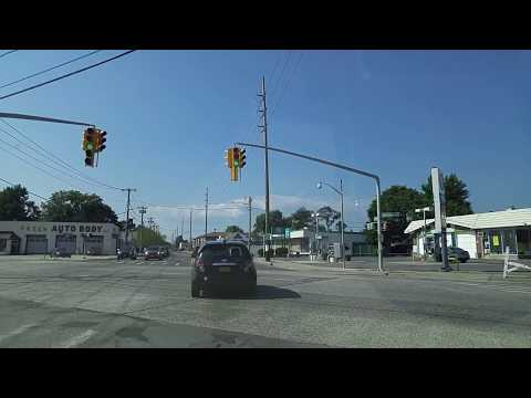 Driving from Bellmore to Syosset in Nassau,New York
