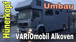 VARIOmobil Alkoven Umbau bei Hünerkopf / womoclick