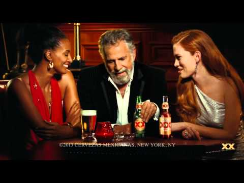 Dos Equis Most Interesting Man in the World Plays Handball