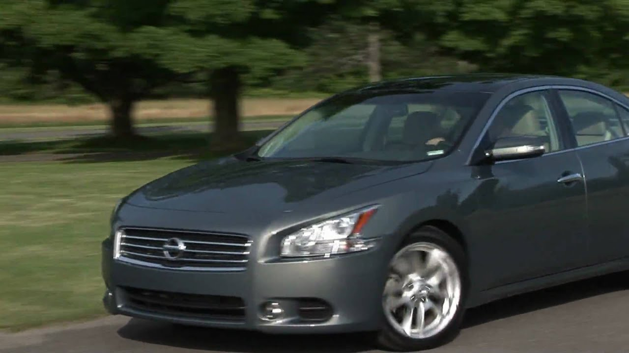 2009 Nissan Maxima 3.5 SV | TestDriveNow - YouTube