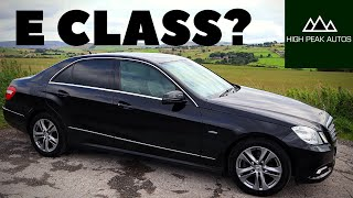 Should You Buy a Diesel MERCEDES E CLASS? (Quick Test Drive and Review)