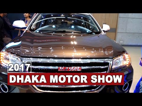 Chinese SUV Beauty Haval H2 Introducing at Dhaka Motor Show 2017