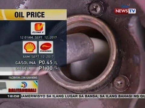 Malakihang oil price hike sa produktong petrolyo, ipinatupad ng mga kumpanya ng langis