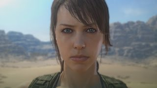 Metal Gear Solid 5 Phantom Pain Gameplay Walkthrough ENDING - Quiet