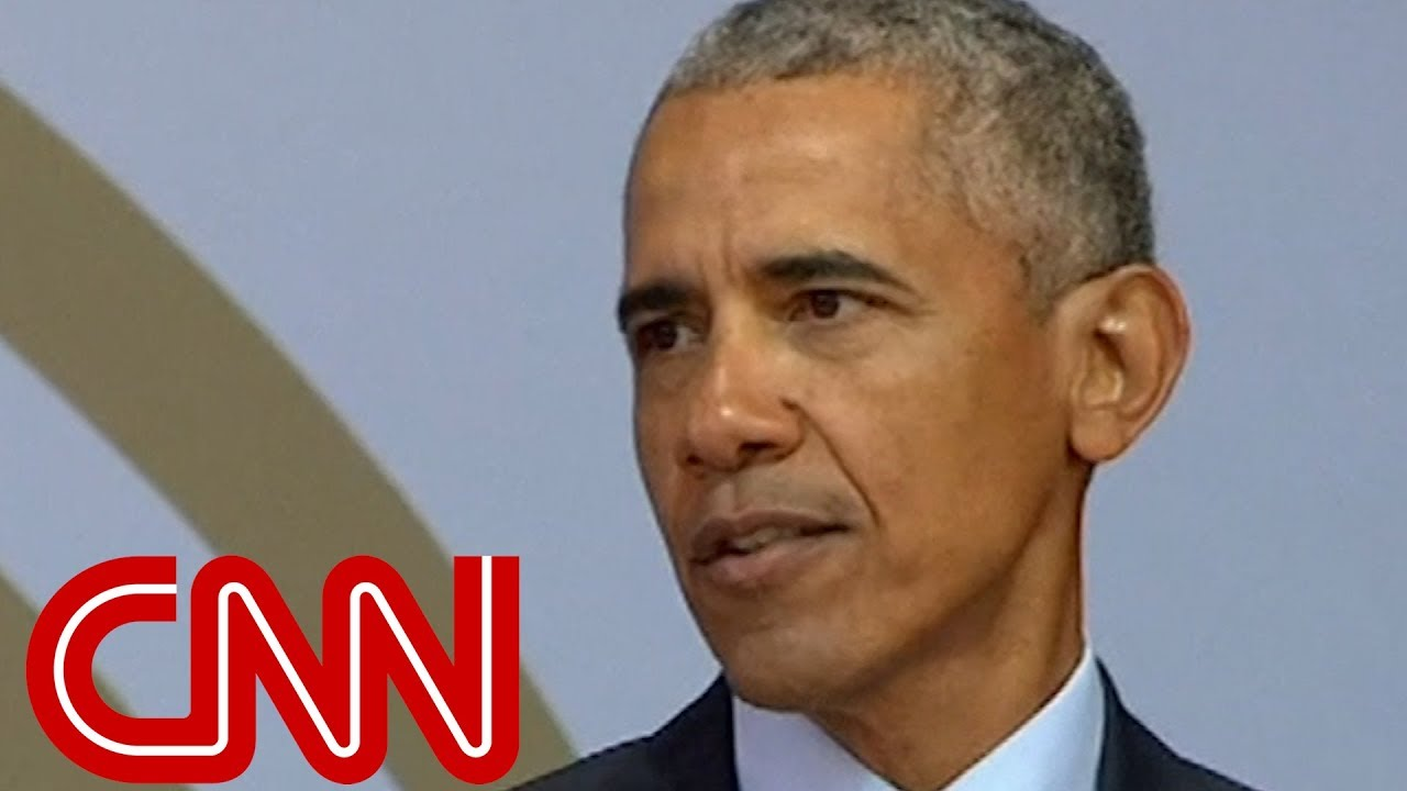 Obama speaks about 'strange and uncertain times'