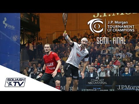 Squash: Gaultier v Rosner - Tournament of Champions 2018 Semi-Final Highlights