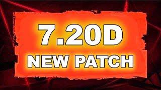 Dota 2 NEW 7.20 d UPDATE - Main Changes!